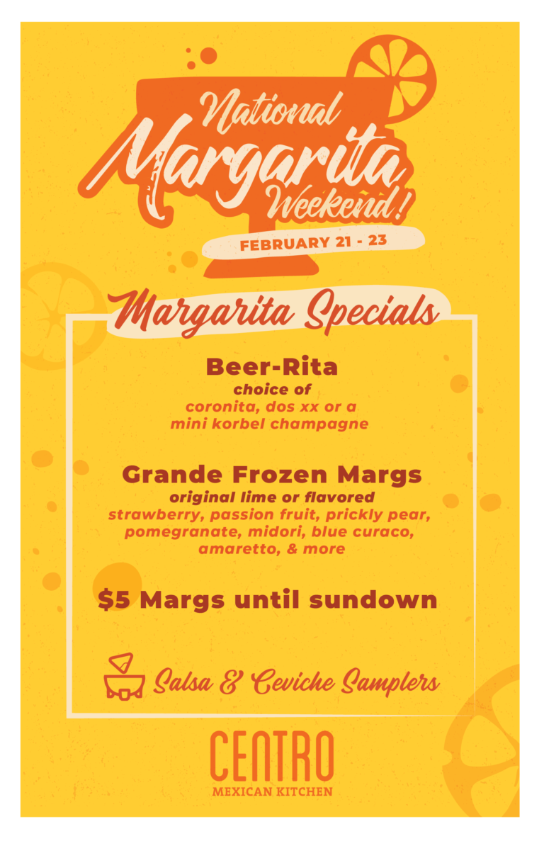 National Margarita Weekend